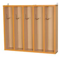 Мебель для туалетных комнат Вешалка для полотенец на 5 крючков