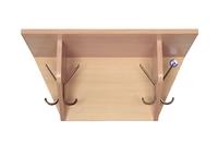 Мебель для гардероба Вешалка настенная на 4 крючка