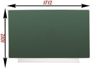 1-элементные Доска школьная магнитно-меловая зеленая ДА-14 (з) мел